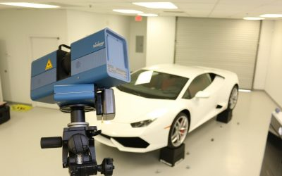 How can 3D scanning and printing help the automotive industry?
