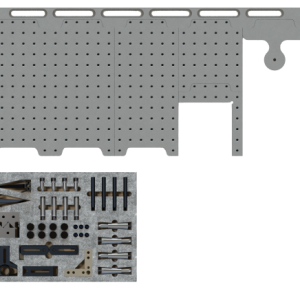 CMM Fixture System 30in Dock with Starter Clamp Kit
