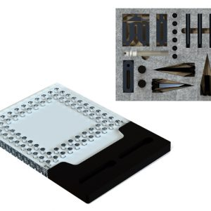 Vision Fixture System 6in Dock with Open-Sight Clamp Kit