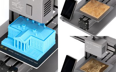 Snapmaker -3D Printing, Laser Engraving and Cutting, CNC Carving all in one!