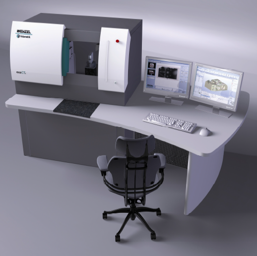 New from Manchester Metrology Ltd is the WENZEL CT scanner, the WENZEL exaCT® M
