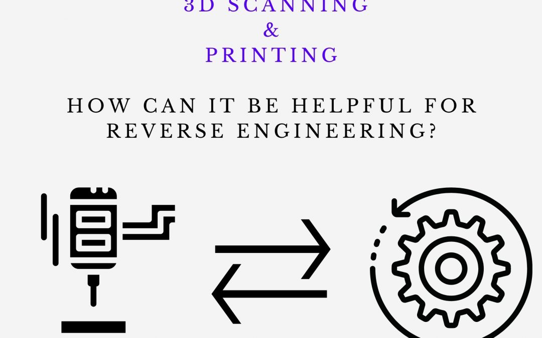How can 3D scanning and printing be helpful for reverse engineering?